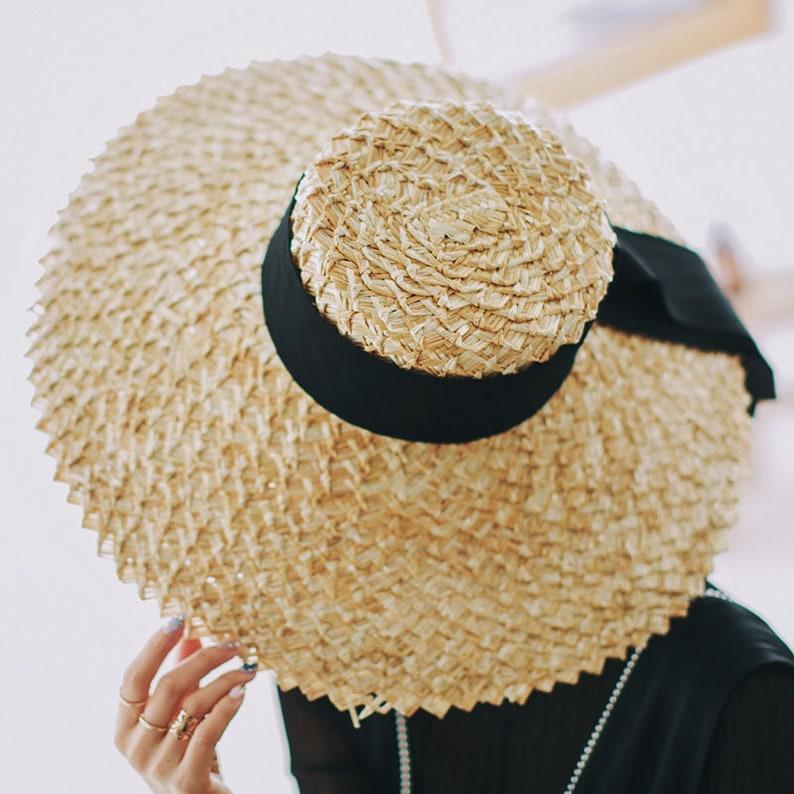 bc00fab54aee5 CUSTOM BRIM WIDTH-Women s summer sun hat panama hat with