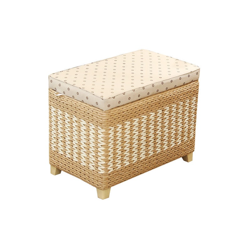 Magnificent Handmade Rectangular Entryway Storage Bench With Patterns Large Storage Bench Wood Stool Floor Pouf Wooden Chair Wedding T Country Decor Uwap Interior Chair Design Uwaporg