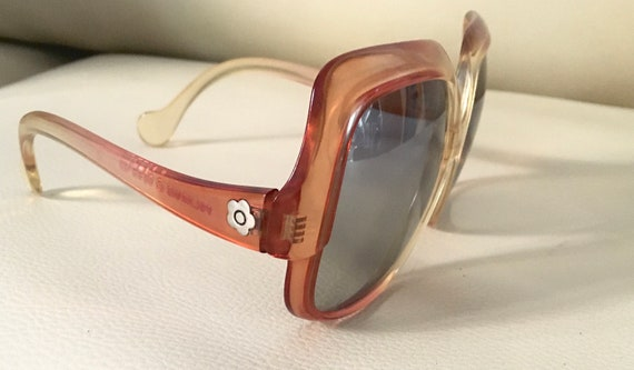 Amazing late 1960s Mary Quant oversized sunglasses