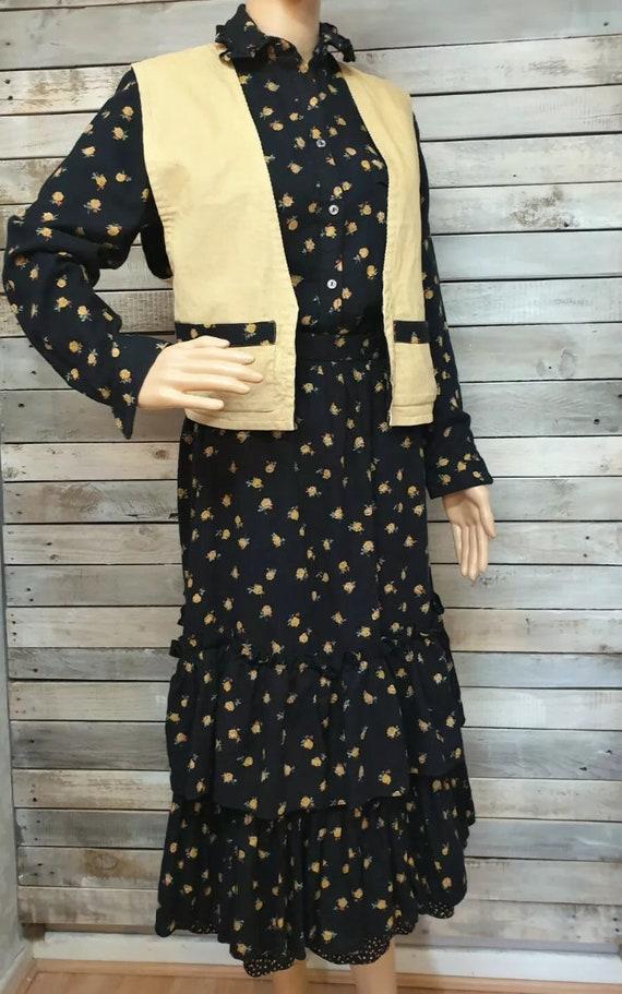 RARE Vintage 1970s Mary Quant 3 pieces suit