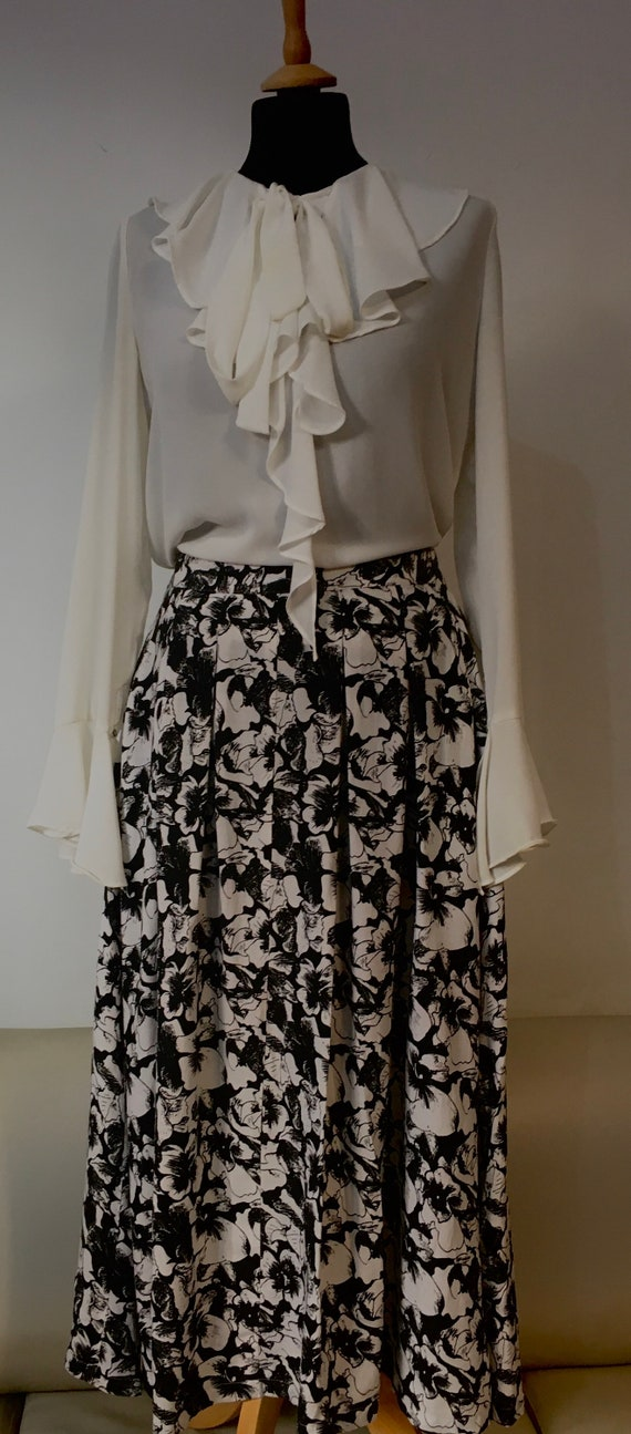 Vintage 70s Mary Quant maxi skirt
