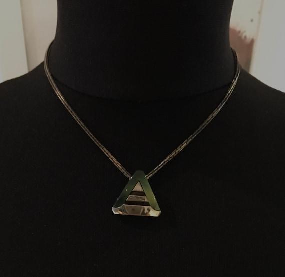 Vintage 70s Pierre Cardin modernist necklace
