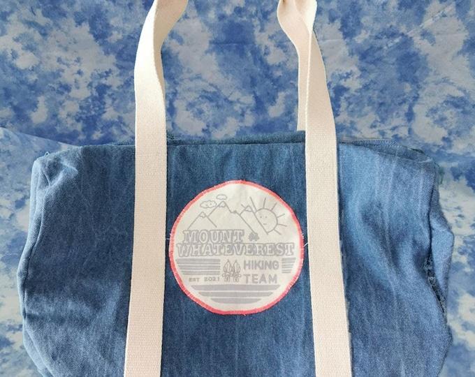 Mount Whateverest - Jeans Bag Reflektor Print