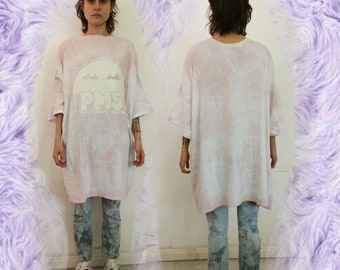 PMS - Putting up with Mens Shit - glow in the Dark - BIG SHIRT