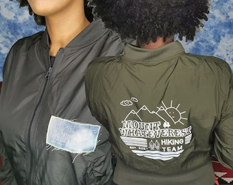 Mount Whateverest - Hiking Team - classic light Bomber Jacket - LIMITED