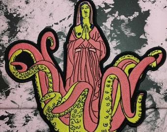 Octomum Patch Backpiece pinkish edition