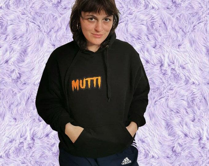 MUTTI Hoodie mit Patch