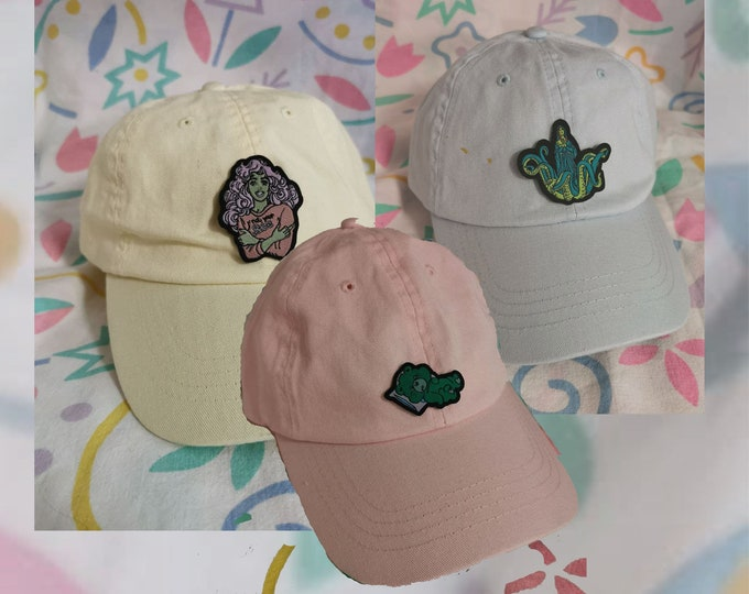 Pastell Cap with tiny Patch