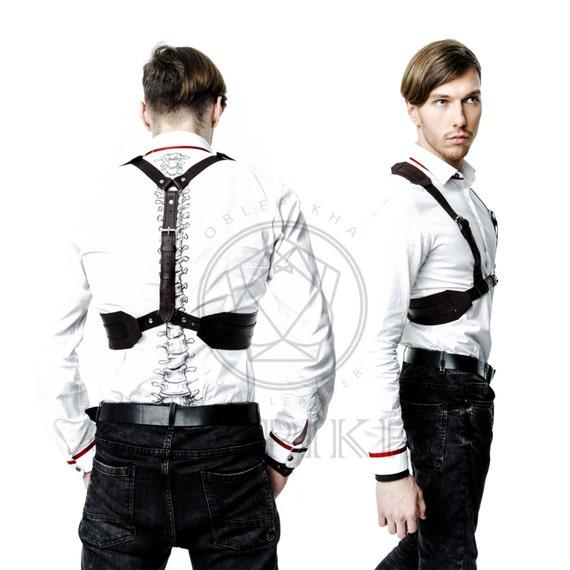 Chest harness accessory harness for men harness leather leather Harness Men belt Men Mens Men Fashion suspenders Harnesses men Mens body awftzOq