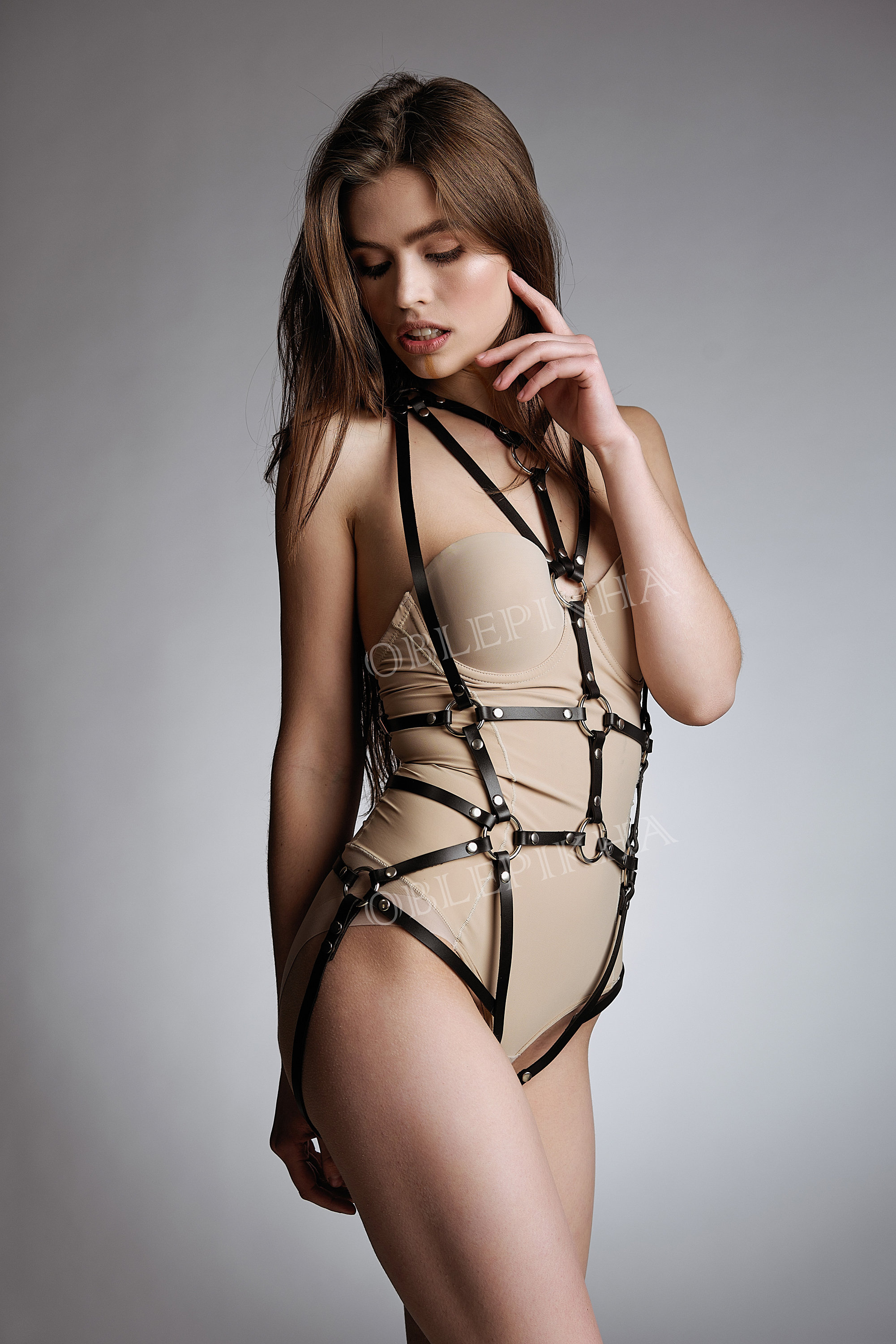 Full Body Leather Harness Erotic Women Harness Harness -7346
