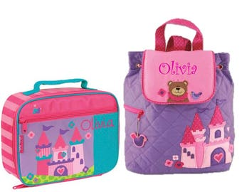 457d3f7e98 MONOGRAMMED CONSTRUCTION BACKPACK   Lunchbox Personalized