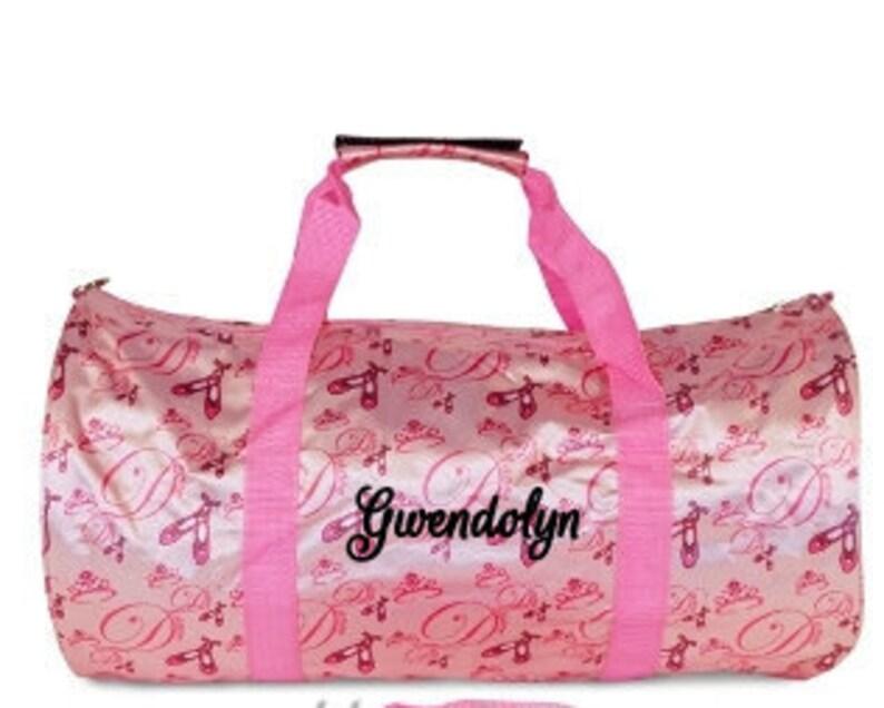 e159ad5d65 DANCERS BAG Personalized Dance Bag Ballerina Bag Dance