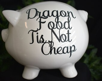 Dragon Piggy Bank Etsy