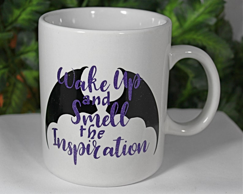 White 20oz Inspiration Coffee Mug  Wake Up and image 0