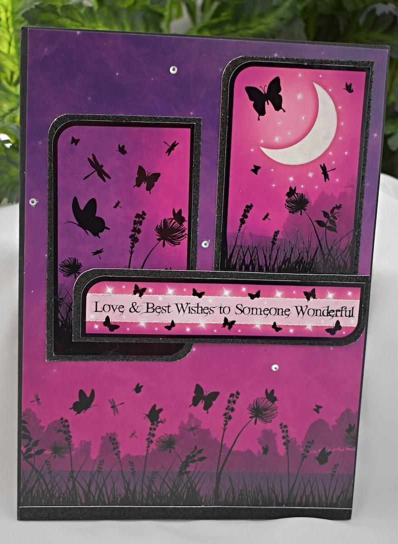 Hunkydory Greeting Card  Handmade Card  Hunkydory Greeting image 0