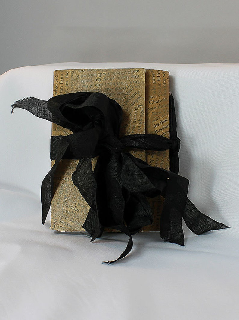 Handmade Travel Journal  Handmade Art Journal  Small Art image 0