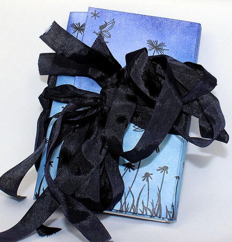 Handmade Fairy Travel Journal  Art Journal  Small Art image 0