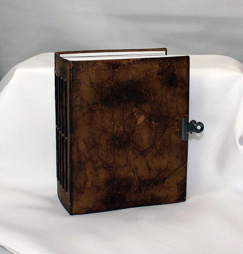 Handmade Art Journal Small  Mixed Media Journal  Art journal image 0