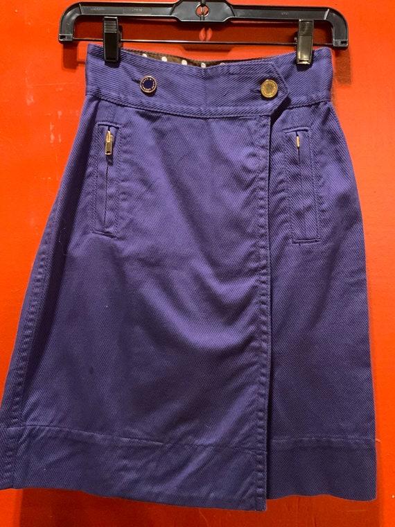 Purple Marc Jacobs high waisted skirt