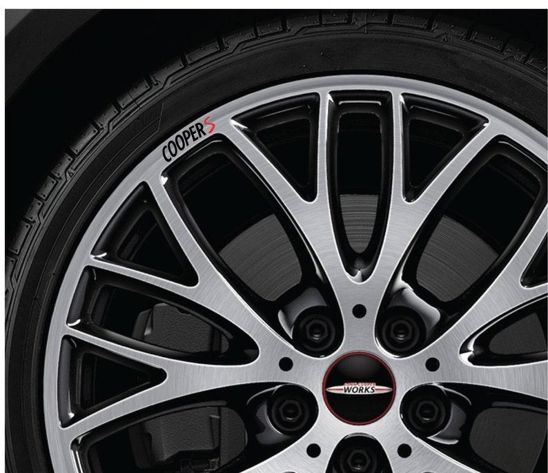 Bmw Mini Cooper S Felgi Naklejki Na Felgi Aluminiowe Wszystkie Etsy
