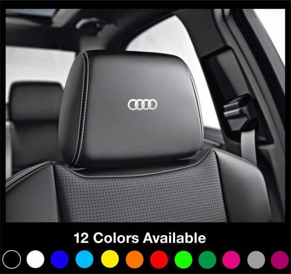 X6 Audi Sport Headrest Car Seat Decals Stickers Graphics Etsy
