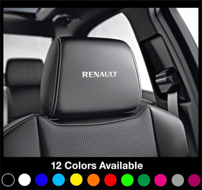 TOP QUALITY VINYL BMW MSPORT CAR SEAT UK SELLER HEADREST DECALS X 5