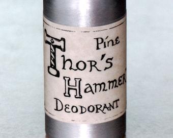 Mountain Pine Deodorant | Thor's Hammer Deodorant Spray | Viking Deodorant, Norseman Deodorant, Mountain Man Deodorant, Pit Spray 3.5 oz.