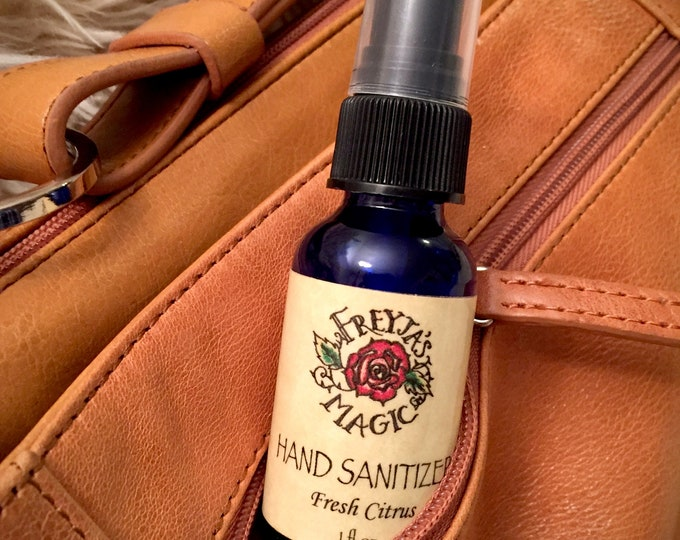Featured listing image: Hand Sanitizer | Fresh Citrus, Sage or Spicy Thieves | 75% Natural Alcohol+ Pure Essential Oils | Safe, Effective, Moisturizing & Protecting