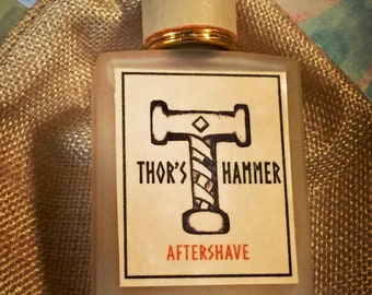Spice Aftershave Special Gift Edition | Thor's Hammer Nordic Spice | Epic Handcrafted Aftershave for the Viking Man