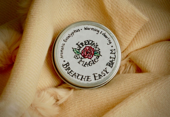 Breathe Easy Balm | Aromatic Eucalyptus Salve | Chest Rub, Menthol Vapor Rub, Cold & Flu Support | Viking Chest Rub