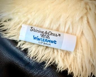 Wintermint Lip Balm | All Weather Lanolin, Zinc Oxide and Peppermint | SPF, Moisturize, Heal and Protect | Viking Lip Balm, Lip Salve