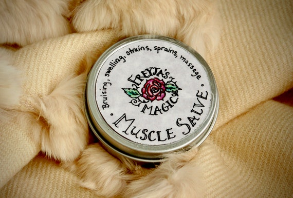 Wintergreen + Arnica Muscle Salve | Pain + Stress Relief | For Healthy Muscles and Bones | Deep Healing Viking Muscle Salve