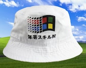 cc718761f810b People who have favorited Windows Japanese Bucket Hat by TDMCO - Etsy