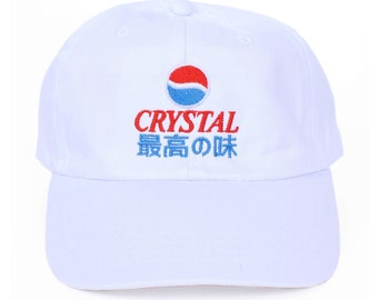 Crystal Pepsi Japanese 6 Panel Cap 18034a53a08