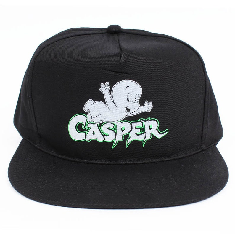5df41f6f5428f Vintage 90s Casper Glow in the Dark Snapback Hat Cap NEW