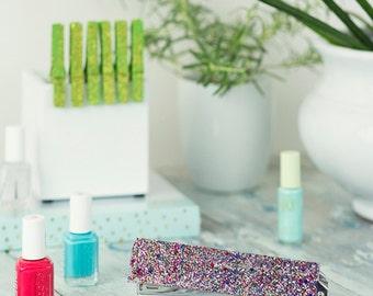 Stapler-Acrylic-Multi Glitter-Desk Accessories