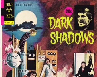 Dark Shadows 20, Horror Comics, Barnabas Book. 1973 Gold Key. VF (8.0)