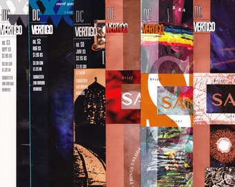 The Sandman 47, 48, 49, 50, 52, 53, comic lot, Neil Gaiman book, Death, McKean. 1993 DC Vertigo Comics in NM