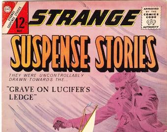 Strange Suspense Stories 70, Horror Comics, Books. 1964 Charlton FN (6.0)