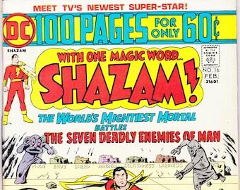 4818b74a932 Shazam comic book