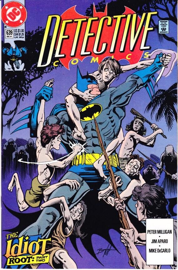 1st Sonic The Hedgehog Detective Comics 639 Book 1991 Dc Etsy