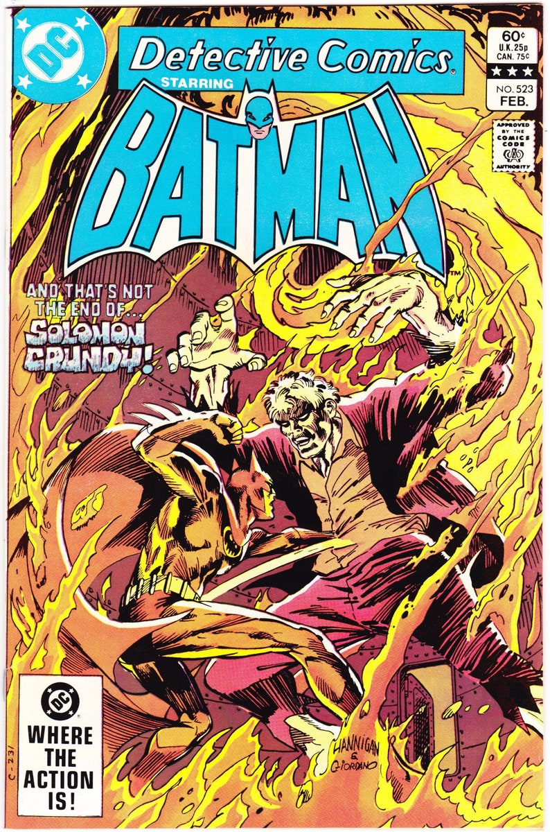 Batman # 604 DC, High Grade VF // NM Unlimited Flat Rate Combined Shipping!