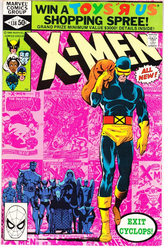 Uncanny X-men 138 comic Dark Phoenix XMen book. 1980 Marvel  ba3929897081