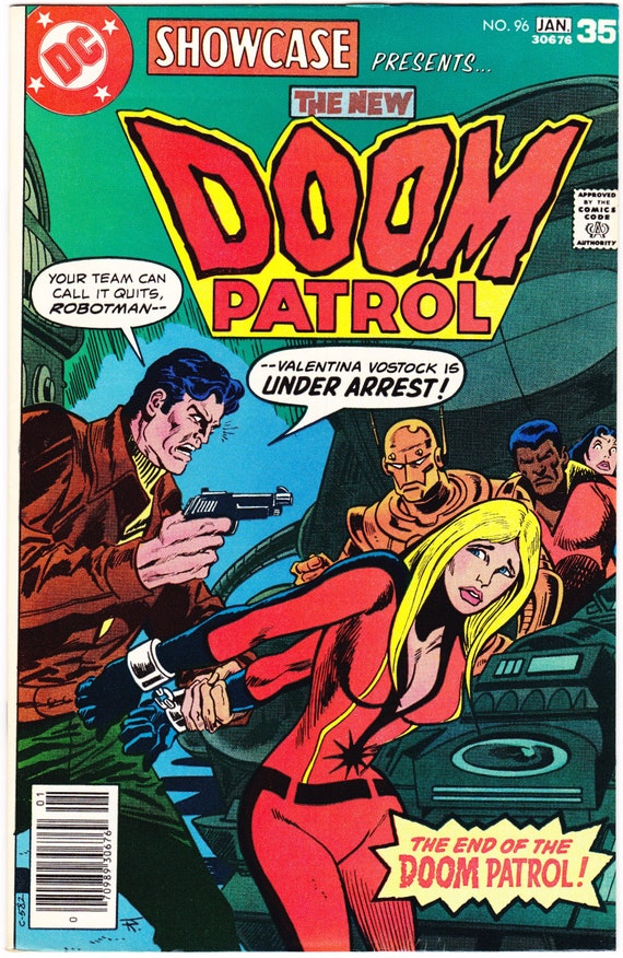 Doom Patrol Comic Showcase 96 Book 1978 Dc Vf 8 5 Etsy
