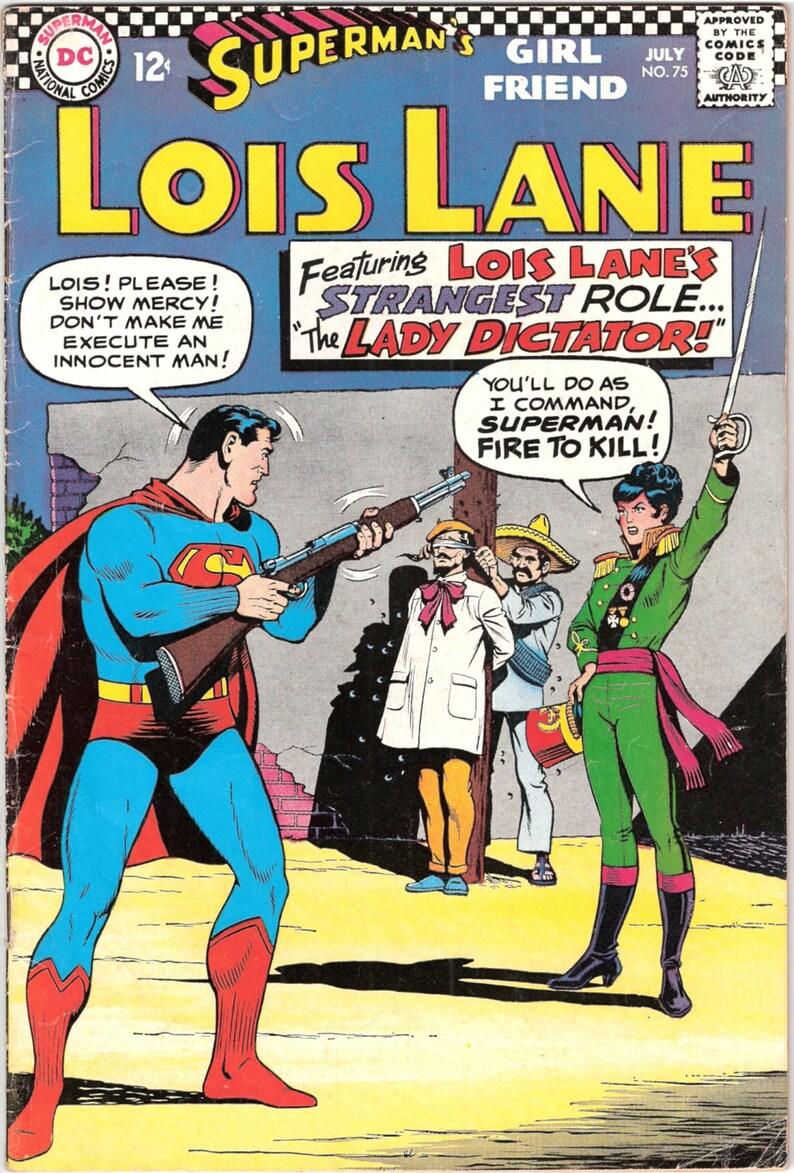 Lois Lane 75 Romance Comics Silver Age Superman books. 1967 image 1