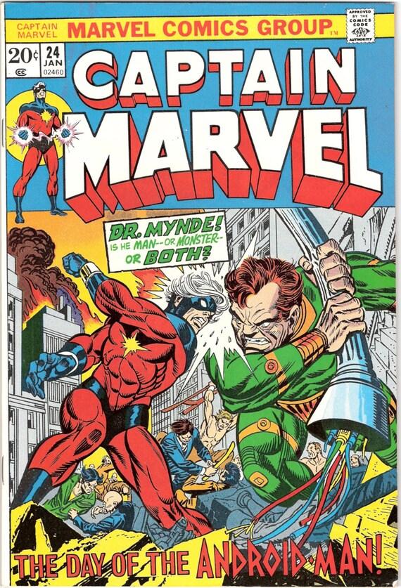 #24 VF//NM Captain Marvel 2019