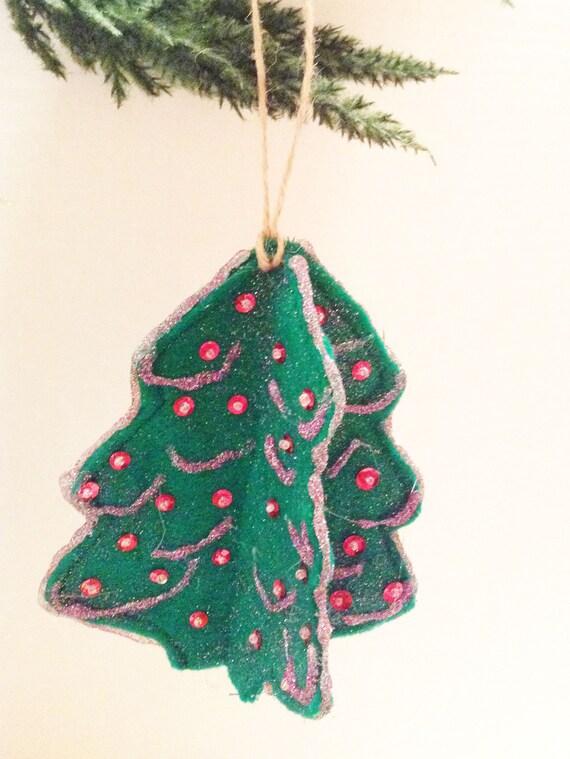 Felt Christmas Decorations Uk.Christmas Ornaments Felt Christmas Tree Christmas Decoration Felt Ornament Christmas Decor Felt Tree Christmas Gift Cto201