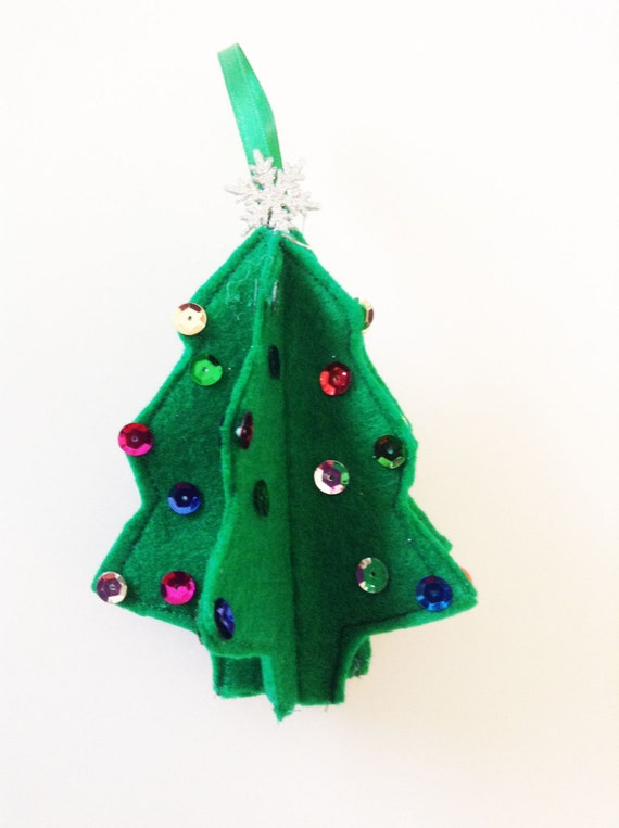 Special Christmas Ornaments.Christmas Ornaments Felt Christmas Tree Christmas Decoration Felt Ornament Christmas Decor Felt Tree Christmas Gift Cto130