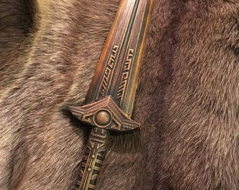Skyrim Dwarven Dagger, 3D Printed, Unofficial