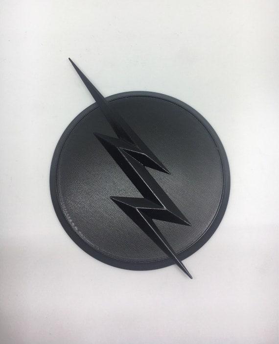 flash emblem badge zoom kid flash reverse flash 3d etsy